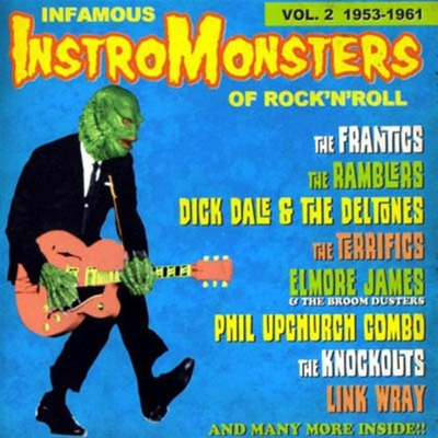 Infamous Instro-Monsters of Rock'n'Roll volume 2 in the group Misc / Music / CD at Sivletto (ETCD1056)