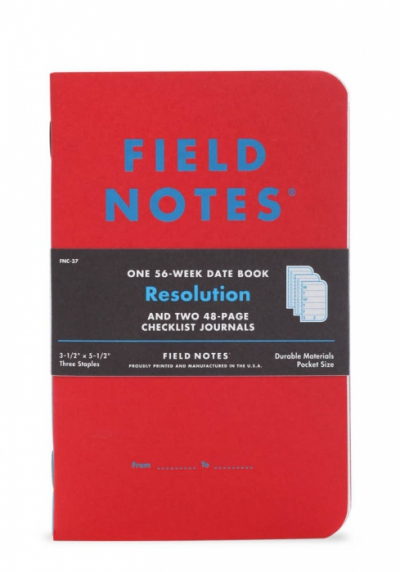 Field Notes Resolution 3-pack in the group Home and stuff / Office and stationary at Sivletto (FNC-37)