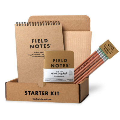 Field Notes Starter Kit in the group Home and stuff / Office and stationary at Sivletto - Skylark AB (FNK-01)