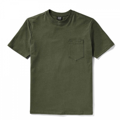 Filson Outfitter One Pocket T-shirt Otter Green in the group Men / T-shirts at Sivletto - Skylark AB (Filson-11010861)