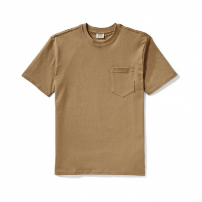 Filson Outfitter One Pocket T-shirt Rugged Tan in the group Men / T-shirts at Sivletto - Skylark AB (Filson-11010862)