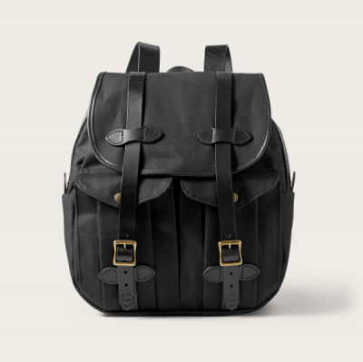Filson Rugged Twill Rucksack Black in the group  at Sivletto - Skylark AB (Filson-11070262-black)