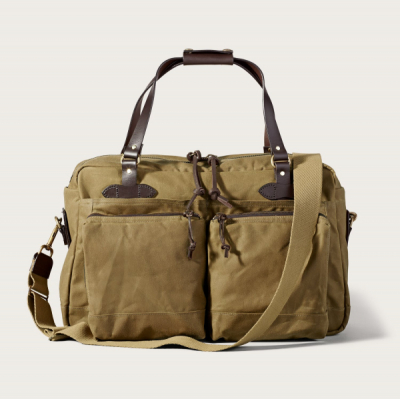 Filson 48-Hour Tin Cloth Duffle Bag Dark Tan in the group  at Sivletto - Skylark AB (Filson-11070328-darktan)