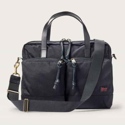 Filson Dryden Briefcase Dark Navy in the group Men / Accessories / Bags at Sivletto - Skylark AB (Filson-20049878-darknavy)