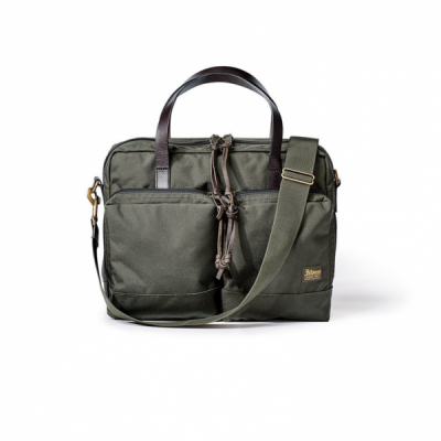 Filson Dryden Briefcase Otter Green in the group  at Sivletto (Filson-20049878-otter)