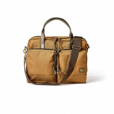 Filson Dryden Briefcase Whiskey in the group Men / Accessories / Bags at Sivletto - Skylark AB (Filson-20049878-whiskey)