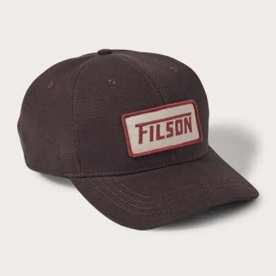 Filson Logger Cap Brown in the group Men / Headwear / Trucker/baseball caps at Sivletto - Skylark AB (Filson-20077080-brown)