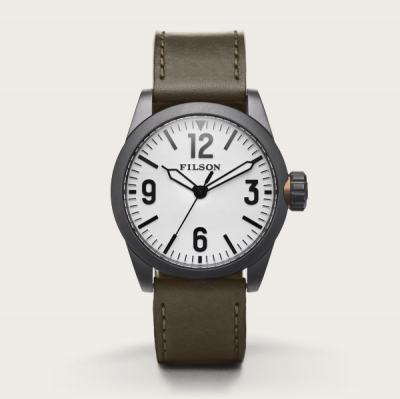 Filson Field Watch Hunter Green/White in the group  at Sivletto - Skylark AB (Filson-20125929-hunter)