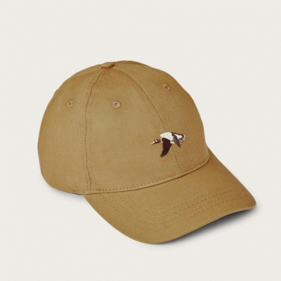 Filson Twill Low-Profile Cap Antique Gold in the group Men / Headwear / Trucker/baseball caps at Sivletto - Skylark AB (Filson-20129478-antique)