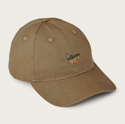 Filson Twill Low-Profile Cap Earth in the group Men / Headwear / Trucker/baseball caps at Sivletto - Skylark AB (Filson-20129478-earth)