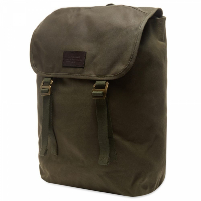 Filson Rugged Twill Ranger Backpack Otter Green in the group Men / Accessories at Sivletto - Skylark AB (Filson-20137828-otter)