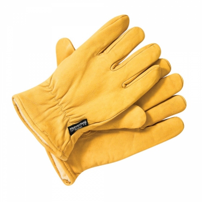Dickies Lined Leather Glove Tan in the group Men / Accessories at Sivletto - Skylark AB (GL0200S)