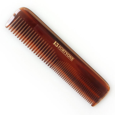 1541 London Pocket Hair Comb (Coarse/Fine Tooth) in the group Hair and skincare / Combs at Sivletto - Skylark AB (HC02)