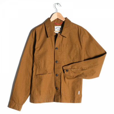 Iron & Resin Worker Jacket Union Brown in the group Men / Jackets and coats at Sivletto - Skylark AB (IR101583-unionbrown)