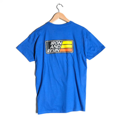 Iron & Resin Stewart Tee Cool Blue in the group Men / T-shirts at Sivletto - Skylark AB (IR1362-coolblue)