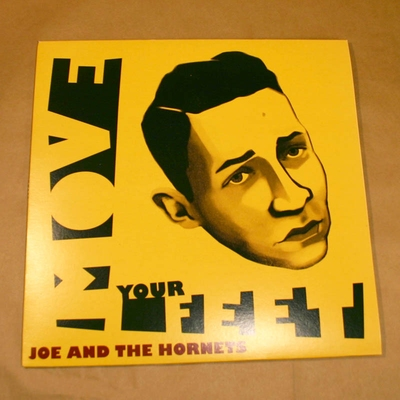Joe and The Hornets - Move Your Feet in the group Misc / Music / Vinyl at Sivletto - Skylark AB (JOE-33)