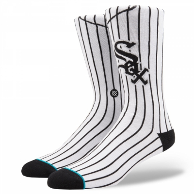 Stance Chicago White Sox Home in the group Men / Undergarments / Socks at Sivletto - Skylark AB (M545A18WHI)