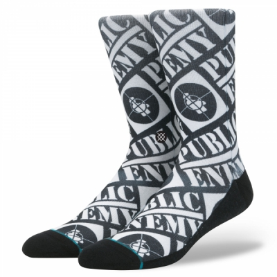 Stance Public Enemy socks in the group Men / Undergarments / Socks at Sivletto - Skylark AB (M545B17PUB)