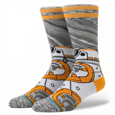 Stance Star Wars BB-8 Socks in the group Men / Undergarments / Socks at Sivletto (M545D17BB8-GRY)