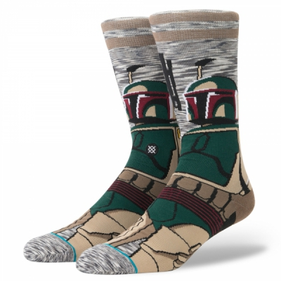 Stance Star Wars Bounty Hunter Socks in the group Men / Undergarments / Socks at Sivletto - Skylark AB (M545D17BOU-GRY)