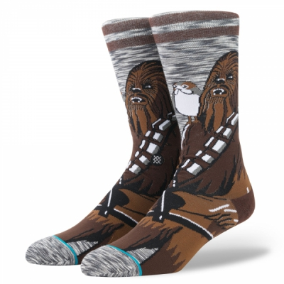 Stance Star Wars Chewie Pal Socks in the group Men / Undergarments / Socks at Sivletto - Skylark AB (M545D17CHW-GRY)