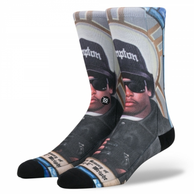 Stance Anthem Praise Eazy-E in the group Men / Undergarments / Socks at Sivletto (M545D17EAZ_MUL)