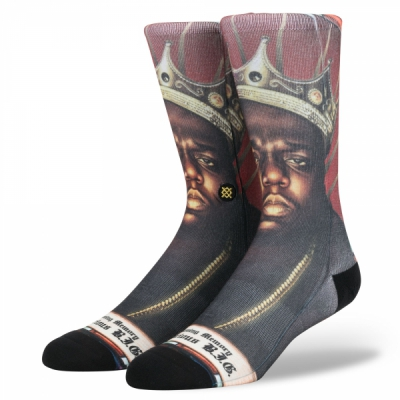 Stance Anthem Praise B.I.G. in the group Men / Undergarments / Socks at Sivletto (M545D17NOT_MUL)