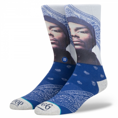 Stance Anthem Snoop Dogg Whats My Name in the group Men / Undergarments / Socks at Sivletto (M545D17WHA-NAVY)