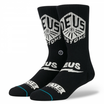 Deus x Stance Blackwater Socks in the group Men / Undergarments / Socks at Sivletto (M556D17BWA_BLK)