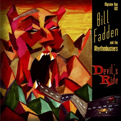 Bill Fadden & The Rhythmbusters - Devil's Ride vinyl EP in the group Misc / Music / Vinyl at Sivletto (MB-022)