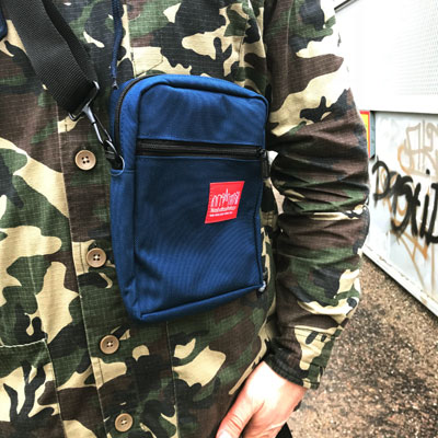 Manhattan Portage City Lights Bag Navy in the group Men / Accessories / Bags at Sivletto - Skylark AB (MP-1403-NVY)