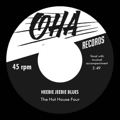 The Hot House Four - Heebie Jeebie Blues in the group Music & Film / Music / Vinyl at Sivletto - Skylark AB (OHA-001)