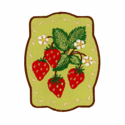 Patch Ya Later Strawberries in the group Denim / Accessories at Sivletto - Skylark AB (PYL-Strawberries)