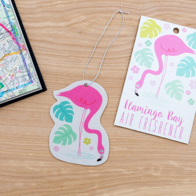 Flamingo bay air freshener in the group Home and stuff / Misc & fun & knick-knacks at Sivletto - Skylark AB (R28281)