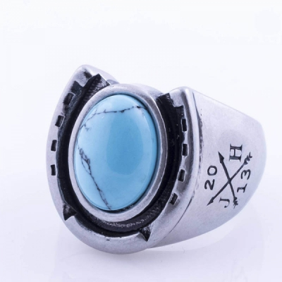 Jernhest Amadeus Silver Ring in the group Men / Accessories / Jewelry at Sivletto - Skylark AB (RAs17100)
