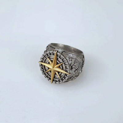 Jernhest Krister Ring Silver in the group Men / Accessories / Jewelry at Sivletto - Skylark AB (RKr19200)