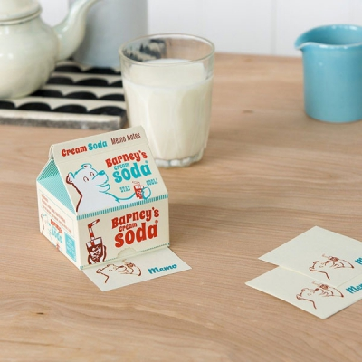 Memo pads in cream soda carton in the group Campaign / Xmas Gifts under 100 SEK at Sivletto - Skylark AB (RL27424)