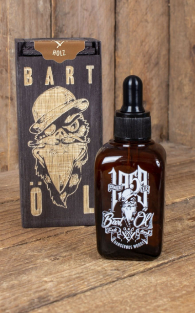 Schmiere Beard Oil Dangerous Woods 50ml in the group Hair and skincare / Mustache and beard / Beard oil at Sivletto - Skylark AB (RUM493B)