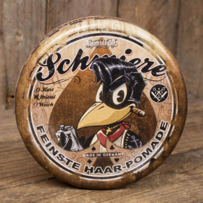 Schmiere Poker Pomade medium hold in the group Hair and skincare / Pomade / Oil based pomade at Sivletto - Skylark AB (RUM503)