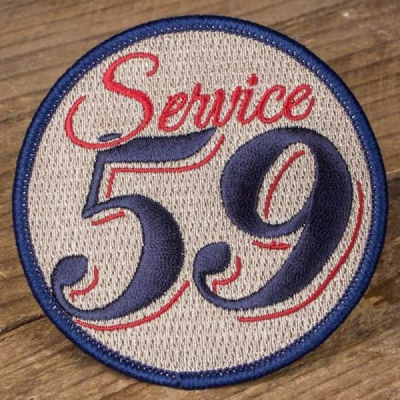 Rumble59 Patch Service 59 in the group Denim / Accessories at Sivletto (Rumble59-Patch-Service-59)