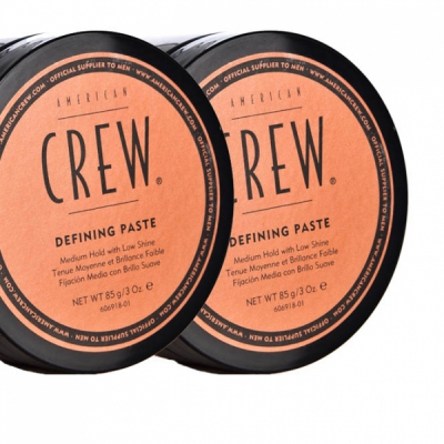 American Crew Defining Paste double pack in the group Hair and skincare / Pomade / Water soluble pomade at Sivletto - Skylark AB (SET-ACDEFININGPASTE)