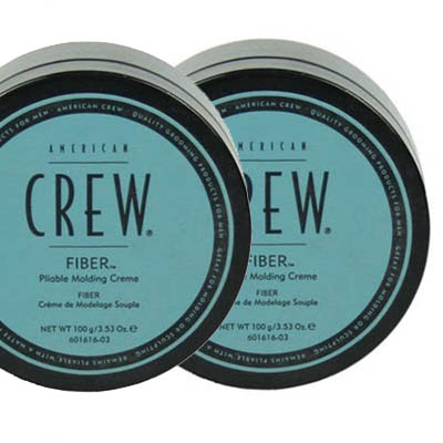 American Crew Fiber double pack in the group Hair and skincare / Pomade / Water soluble pomade at Sivletto - Skylark AB (SET-ACFIBER)