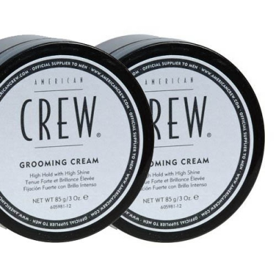 American Crew Grooming Cream double pack in the group Hair and skincare / Pomade / Water soluble pomade at Sivletto - Skylark AB (SET-ACGROOMINGCREAM)