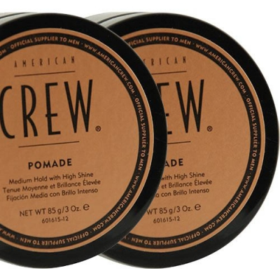 American Crew Pomade double pack in the group Hair and skincare / Pomade / Water soluble pomade at Sivletto - Skylark AB (SET-ACPOMADE)