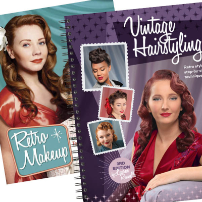 Vintage Hairstyling + Retro Makeup in the group Hair and skincare / Snoods, Rollers & Curlers at Sivletto (SET3)