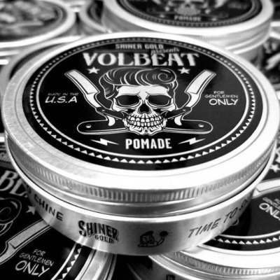 Shiner Gold Heavy Hold Pomade Volbeat LTD in the group Hair and skincare / Pomade / Water soluble pomade at Sivletto - Skylark AB (SHI-025)
