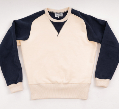 Simon James Cathcart Cream Merton Sweatshirt in the group Men / Sweaters at Sivletto - Skylark AB (SJC-4)