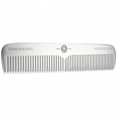 Suavecito Premium Metal Comb in the group Hair and skincare / Combs at Sivletto - Skylark AB (SPB-067)