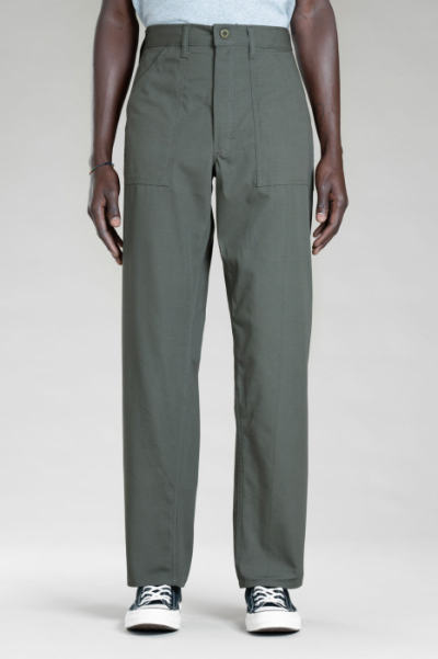 Stan Ray 1100 OG Loose Fatigue Pants Olive Ripstop in the group Men / Mens Pants at Sivletto - Skylark AB (SR-1109)