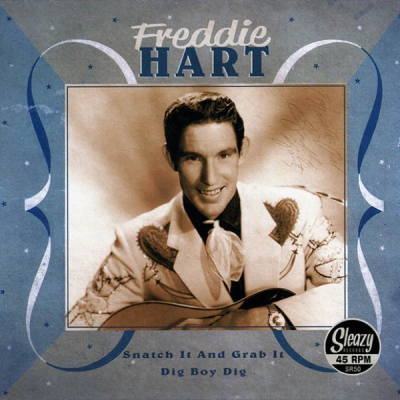 Freddie Hart - Snatch it and grab it / Dig boy dig in the group Music & Film / Music / Vinyl at Sivletto - Skylark AB (SR50)